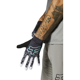 Fox Flexair Foxhead Gloves Men, teal